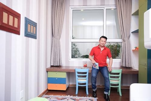 Thiết kế nội thất căn hộ chung cư cao cấp của Bằng Kiều 3