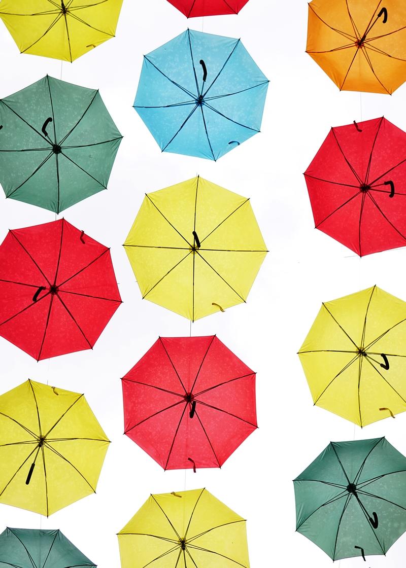 sateenvarjot, sade