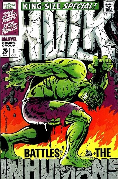 Incredible Hulk, King-Size Special #1, Jim Steranko