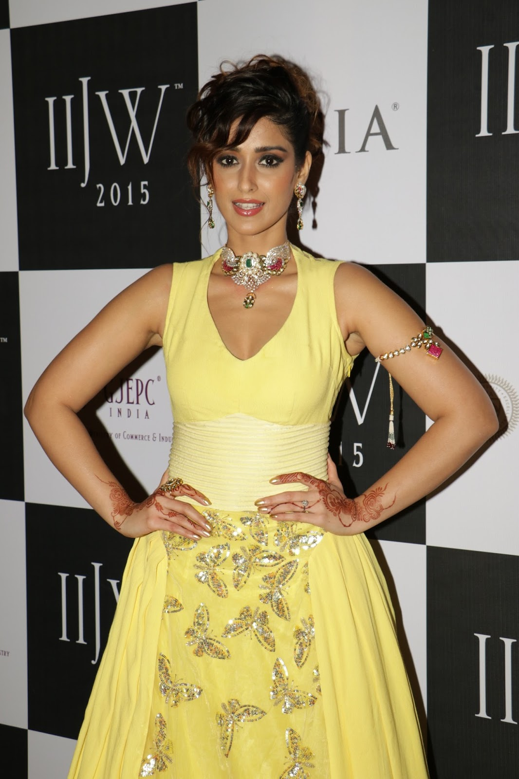 Ileana Ramp Walk Stills at IIJW 2015-HQ-Photo-11