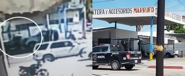 VIDEO: ¡Cámaras captaron ataque de sicarios en La Paz BCS!