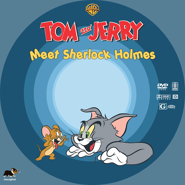 Tom and Jerry: Meet Sherlock Holmes DVD Label