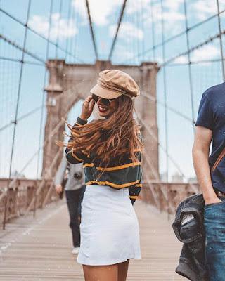 foto tumblr en puente de brooklyn