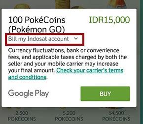 Cara Mudah Beli PokeCoins Pokemon GO Pakai Pulsa