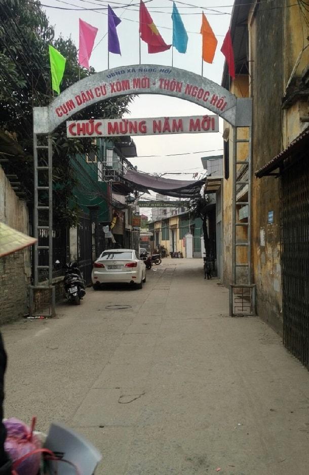 xóm mới làng Ngọc Hồi Thanh Trì