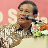 Prabowo Ngaku Pernah Berbicara Empat Mata Dengan Gatot