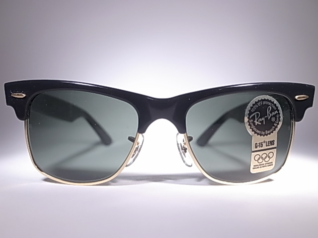 68e5aa291e M VINTAGE SUNGLASSES COLLECTION  BAUSCH AND LOMB RAY BAN WAYFARER ...