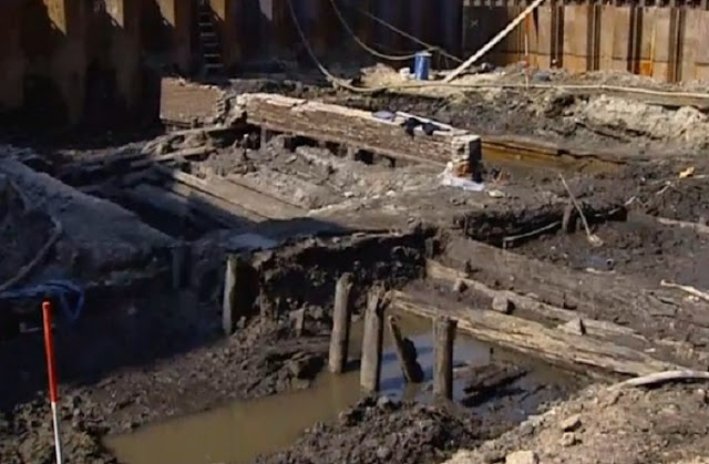 17th century Jewish ghetto unearthed in Amsterdam