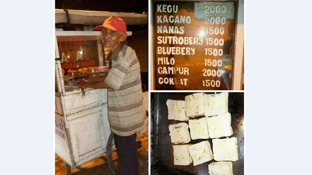 Hargai Roti Bakarnya Dengan Sangat Murah, Alasan Kakek Ini Sungguh Mengharukan