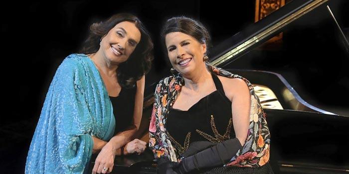 Martha Senn y Laura García. Foto por. Andrés Gómez