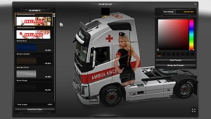 2 Volvo Ambulance Nurse Volvo skins