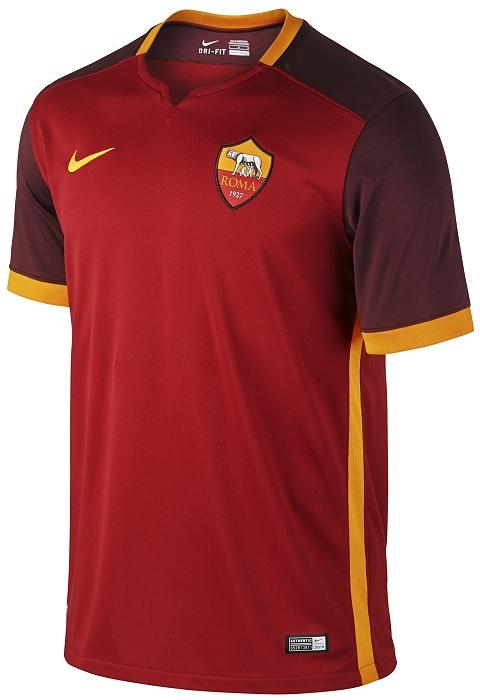 Nike divulga as novas camisas da Roma - Show de Camisas 4a4db32ce70d3