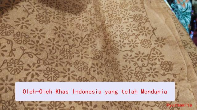 oleh oleh khas indonesia