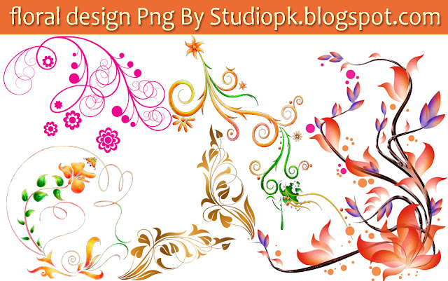 Floral Designs Png