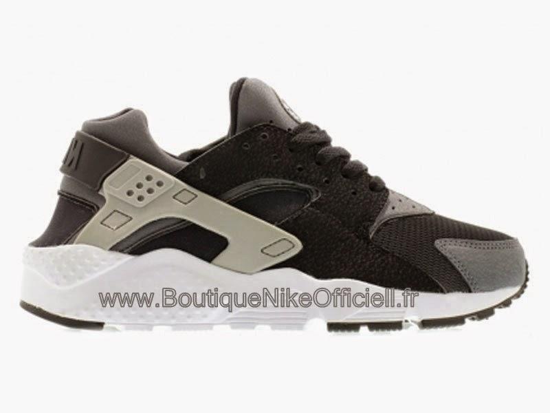 innovative design f0c09 207a2 Boutique Nike Officiel Nike Air Huarache GS Chaussure Pour Femme Noir Wolf  Gris-Dark Gris-Blanc 654275-001
