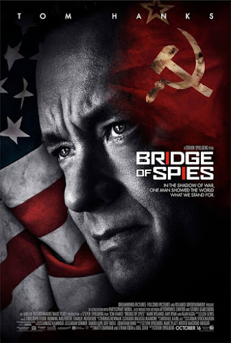 Poster Of Free Download Bridge of Spies 2015 300MB Full Movie Hindi Dubbed 720P Bluray HD HEVC Small Size Pc Movie Only At worldfree4u.com