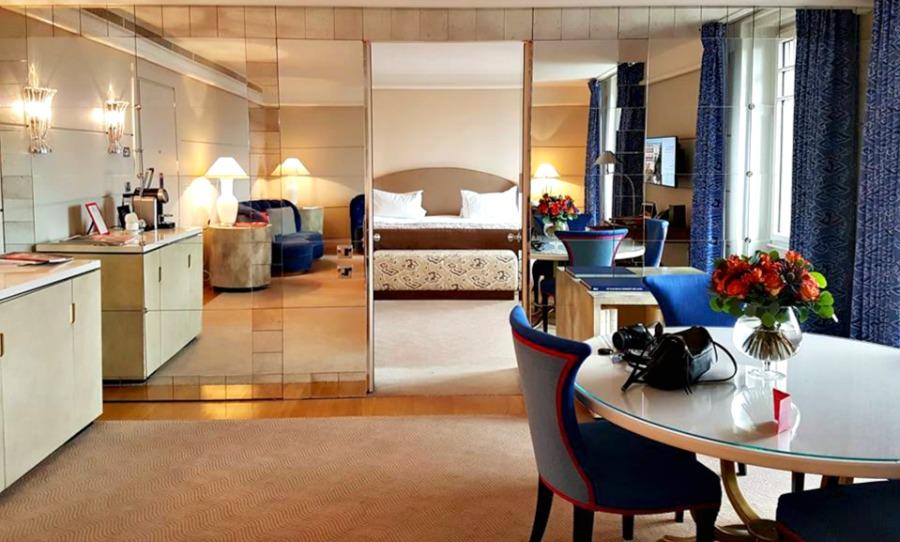 A stay in the ambassador suite at le richemond geneva for Design hotel 16 geneva