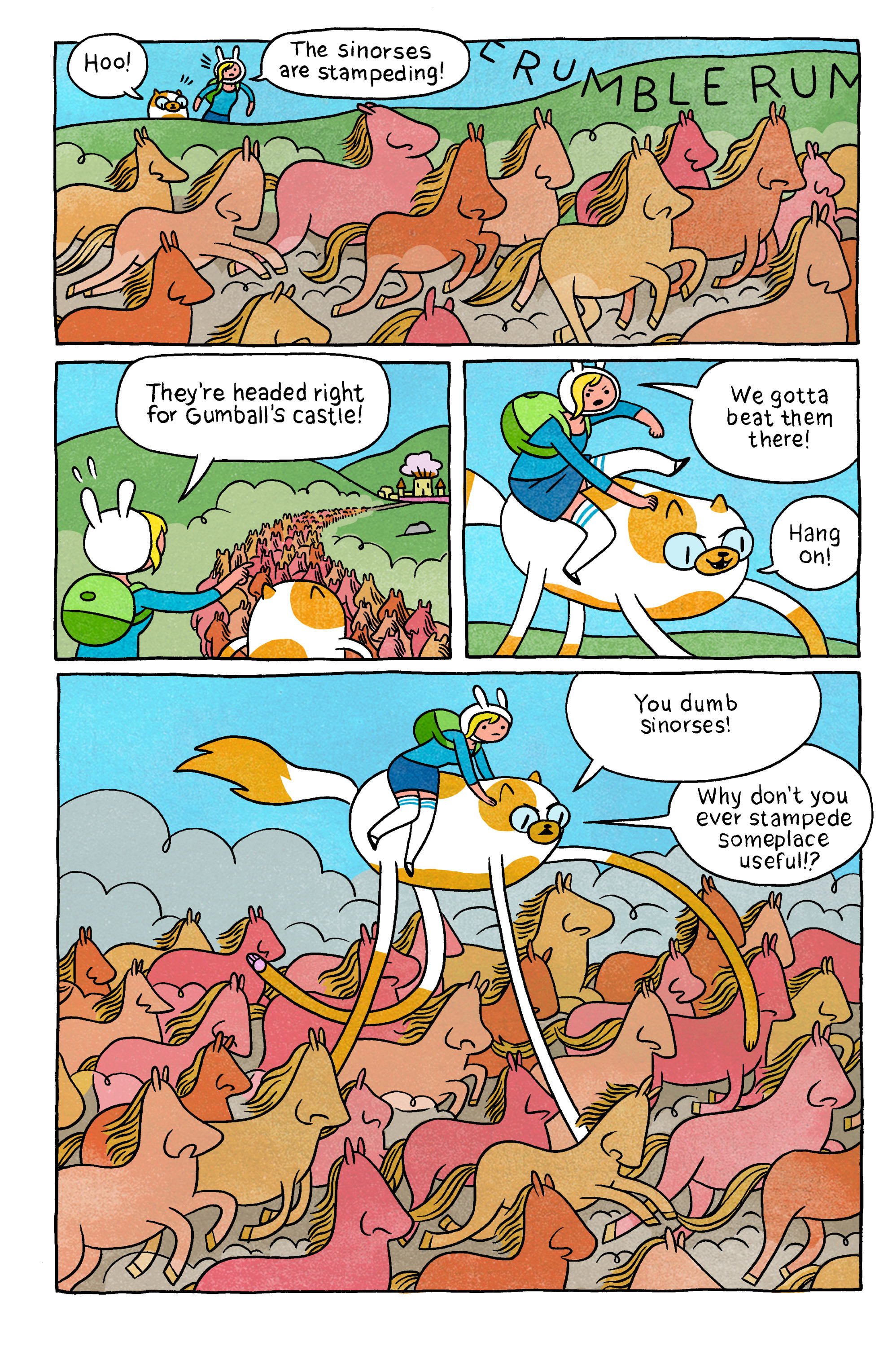 Read online Adventure Time with Fionna & Cake comic -  Issue #5 - 24
