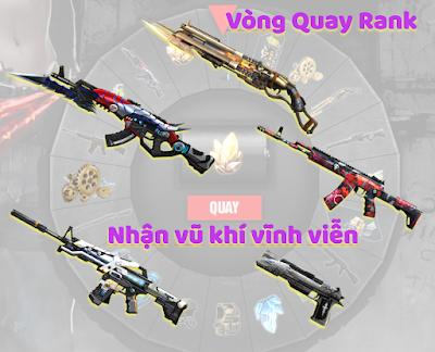 Truy kích mobile đấu rank nhận súng VV