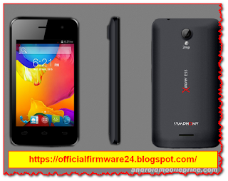 Symphony E55 Official Firmware/ Flash File Free Download