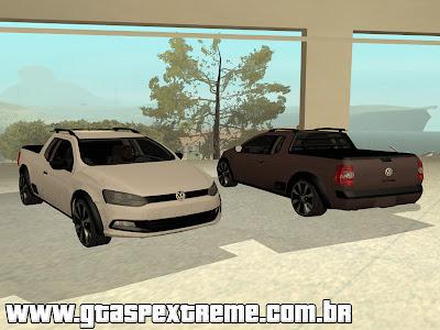 Volkswagen Saveiro G6 2014 para GTA San Andreas