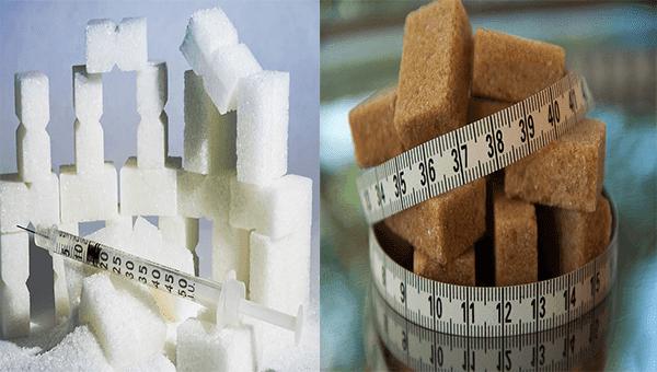 ما الذي يميز السكر الأسمر عن الأبيض؟