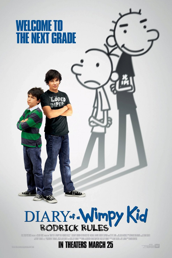 things i finished diary of a wimpy kid rodrick rules