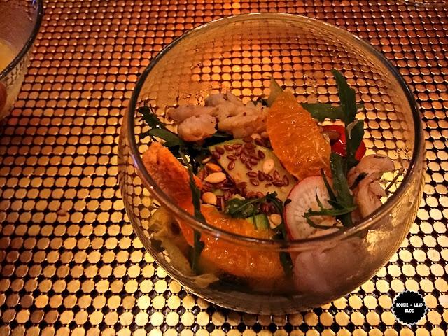 Smoked Prawn Salad@Aspect Bon Vivant @ Nimisserie | Bangalore