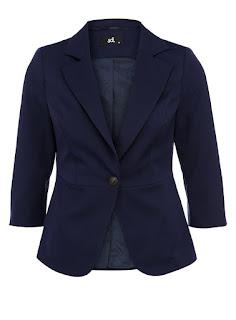 Пиджак темно-синего цвета от adL 3599 руб