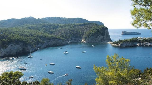 Port de Saint Miguel em Ibiza