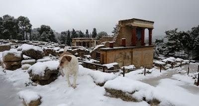 """Αρχαιολογικοί χώροι μετά την επίσκεψη της """"Αριάδνης"""""""