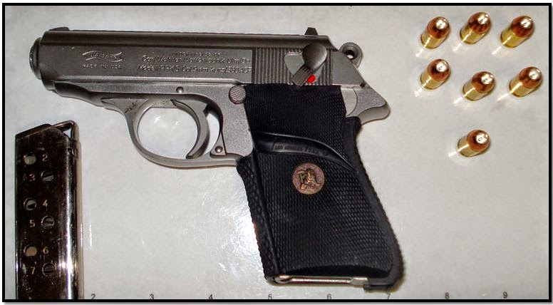 discovered loaded firearm