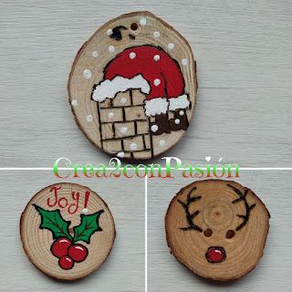 Adornos-navideños-pirograbados-en-madera-y-pintados-con-acrilicos-crea2conpasion