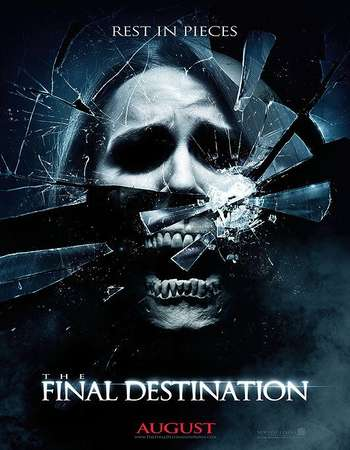 Poster Of The Final Destination 4 2009 Hindi Dual Audio  300MB  720p  HEVC Free Download Watch Online worldfree4uk.com