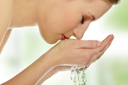 Using Water To Get Rid Of Acne
