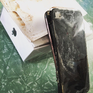 Leak: An iPhone 7 Has Exploded, (Photos) Below
