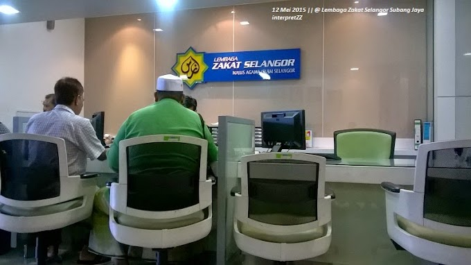 Ke Lembaga Zakat Selangor cawangan Subang Jaya