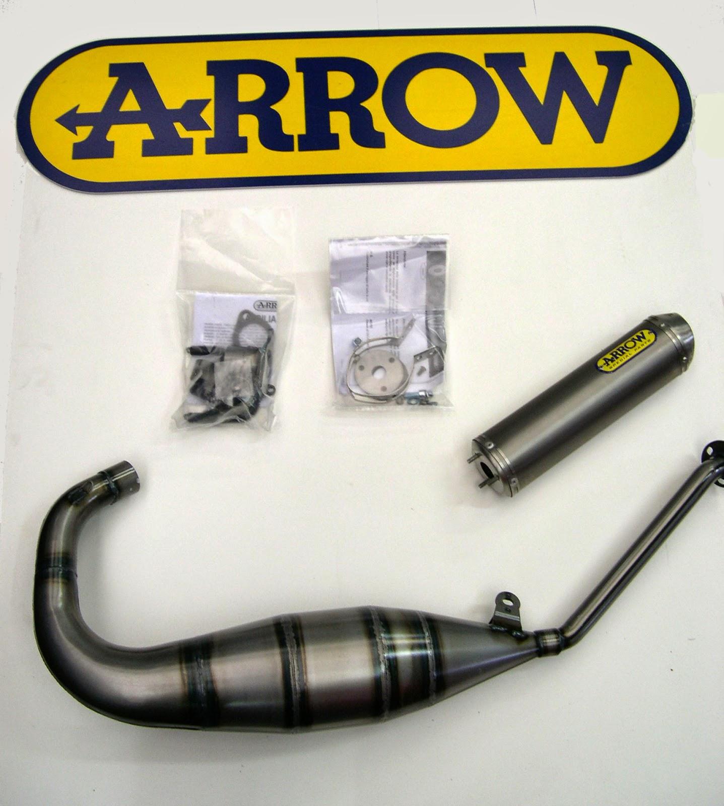 aprilia rs 125 sports exhausts