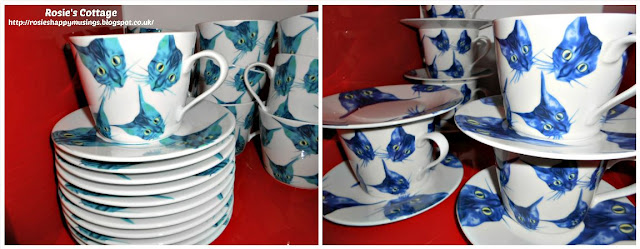 Ikea GILTIG cups & saucers