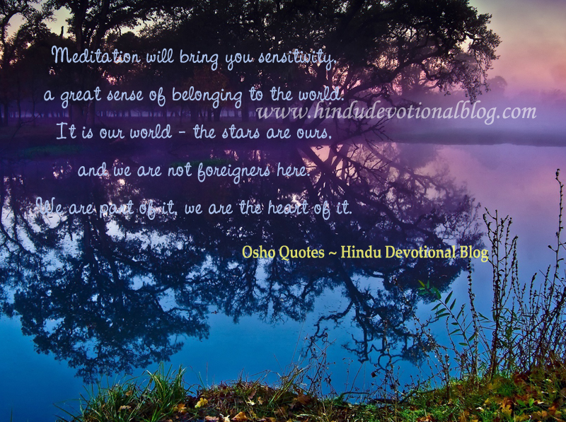 Stay Alert Bible Verse Quotes On Meditation By Osho