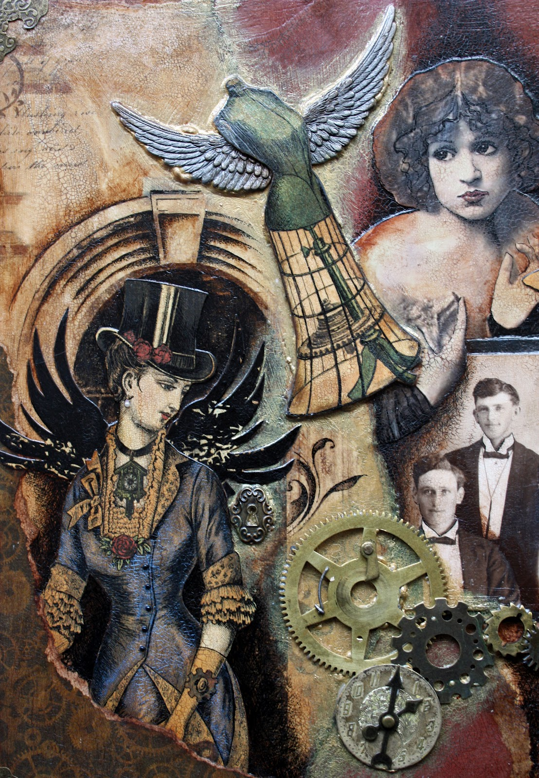 Victoria's Art Visions: Steampunk Art