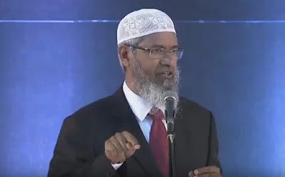 Jawab Tuduhan Rekayasa Bersyahadat, Ini yang Dilakukan Dr Zakir Naik di Bekasi