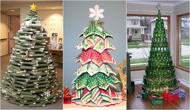 El arte de crear actividades de aula nos preparamos para - Arboles de navidad artesanales ...