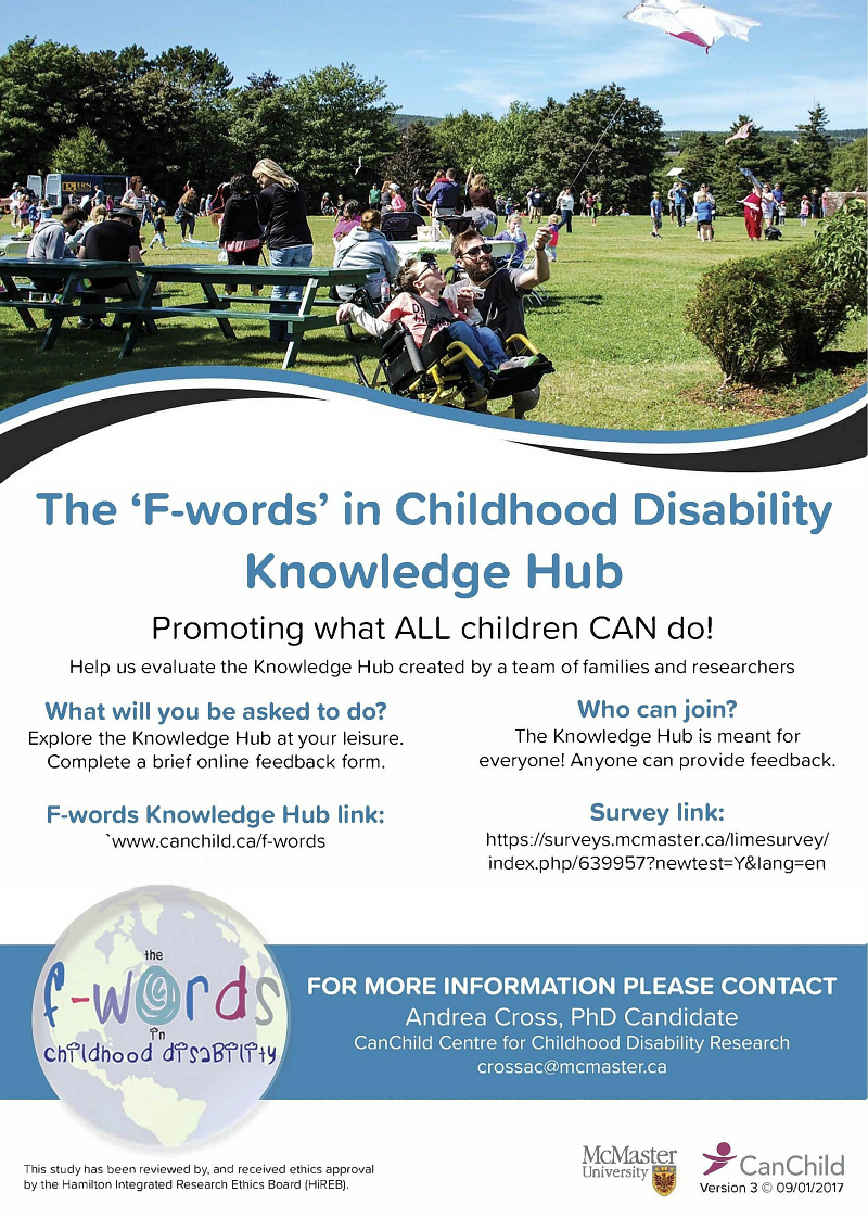 https://www.canchild.ca/en/research-in-practice/f-words-in-childhood-disability/f-words-hub-evaluation