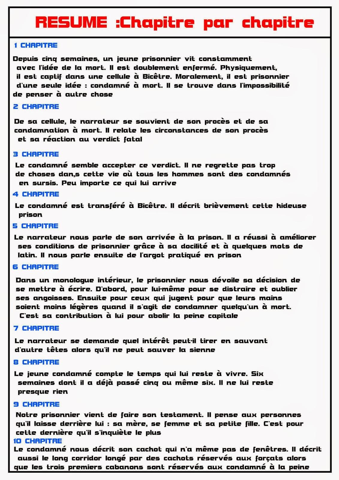 Résumé Le Dernier Jour D'un Condamné : résumé, dernier, condamné, مدونة, Résumé, Dernier, Condamné, بشكل, مصغر