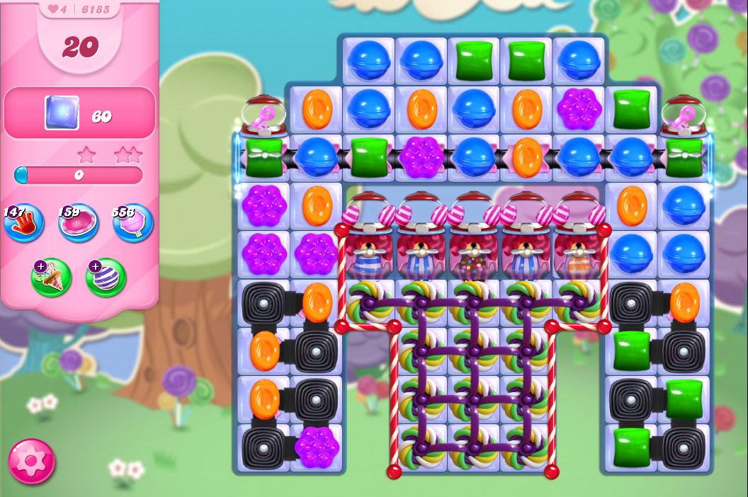Candy Crush Saga level 6185