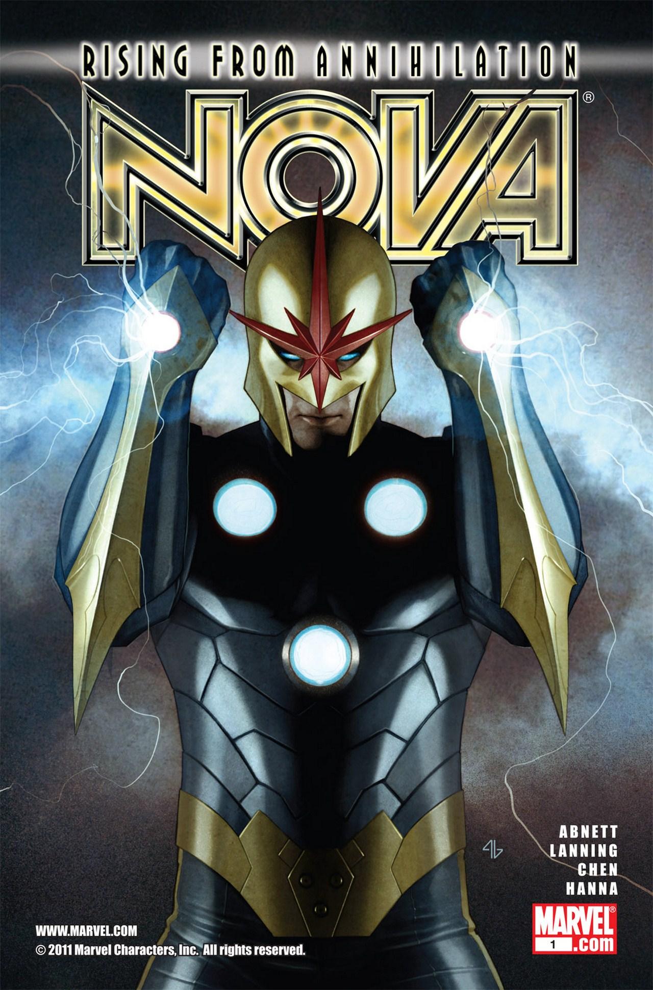 Nova (2007) issue 1 - Page 1
