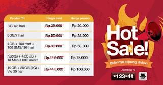 Tri Hot Sale November - Desember 2017