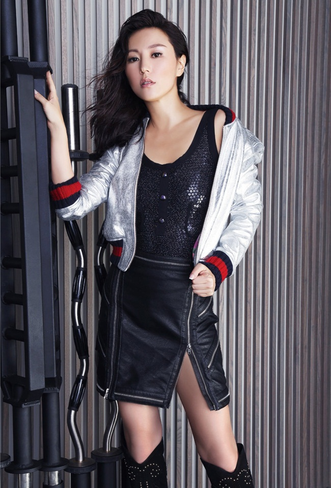 Resort 2016 Gucci Crackle Leather Bomber Jacket Editorials