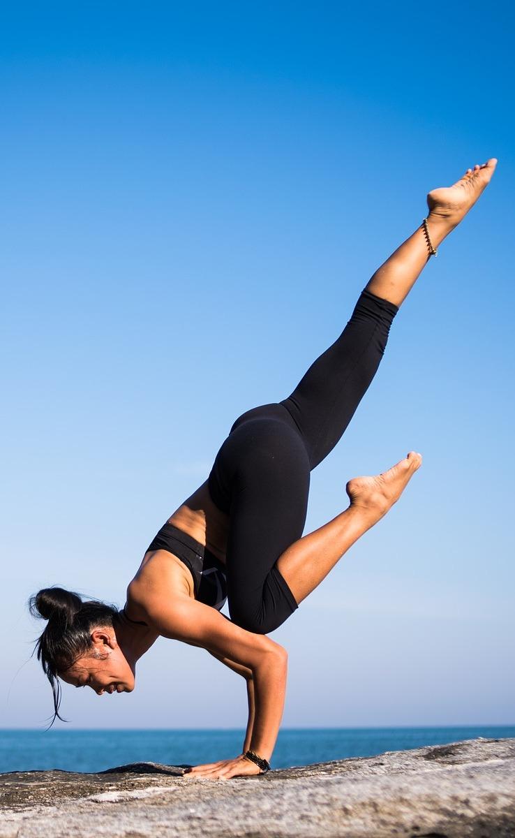 Yoga fitness.
